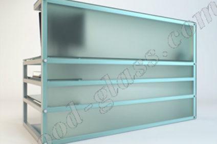 Заготовка для стеклянной витрины