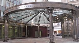 купол из стекла